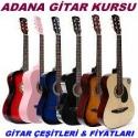 Adana Gitar Kursu – Gitar Çeşitleri – Fiyatları